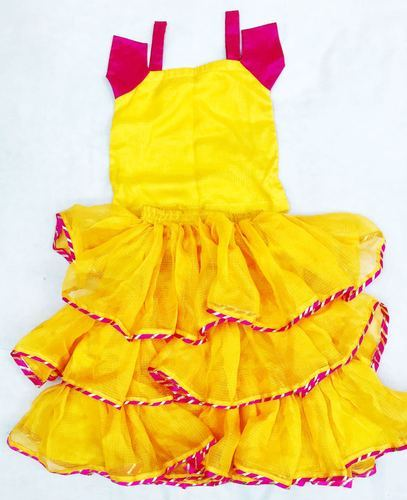 76106a607cff KOTA SILK RAMA And ORANGE BABY GIRL DRESSES, Rs 2500 /set | ID ...
