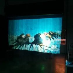 Projector Multicolor Fog Screen on Rent, For Events, Full Hd