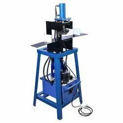 V Creasing And D Cut Paper Bag Making Machine
