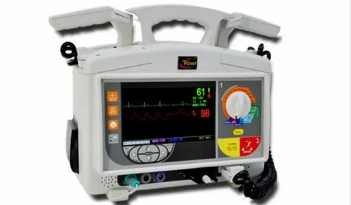 Biphasic Defibrillator with Manual and AED Mode - Heidelco Medicore