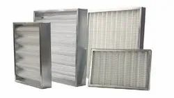 80% Synthetic Fiber HVAC Air AHU FCU Filters, Filtration Grade: Pre Filter
