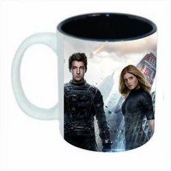 Gippy Trendz Ceramic Printed Coffee Mug, Packaging Type: Box
