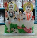 Beautiful Marble Shiva Parivar Statue
