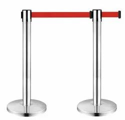 Stainless Steel Barricade Stand