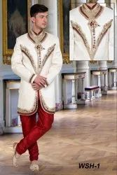 Embroidered Sherwani For Grooms