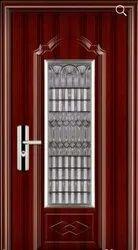 Steel Security Door-in-Door