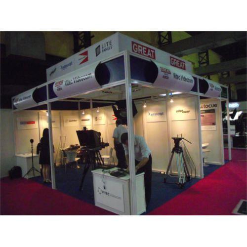Exhibition Stall Installation : Octanorm exhibition stall installation service application usage