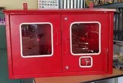 Double Door Mild Steel Fire Hose Box