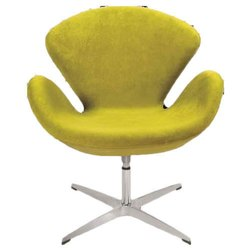 Lemon Green Lounge Chair