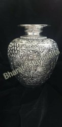 Antique Silver Plated kalash