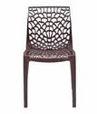 Plastic Web Chair For Brown, Warranty: 1 Year