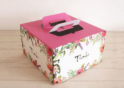 Paper Pastry Box