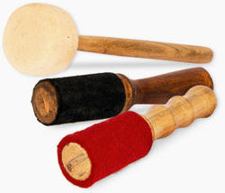 Felt Sticks & Wooden Mallets