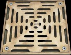 Slot Nickel Bronze Floor Drain Strainers