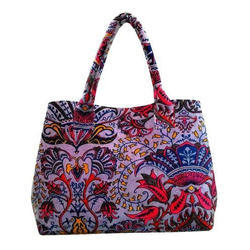 Velvet Handmade Bag