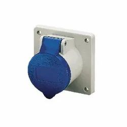 1366 Panel Mounted Industrial Socket Receptacle