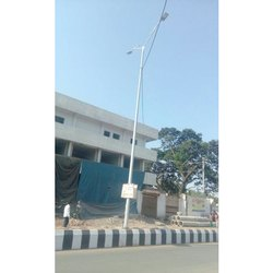 Double Arm Bracket Street Light Pole
