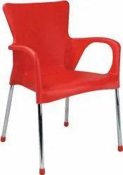 Multicolor Standard Plastic Chair