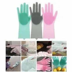 Silicon Kitchen Gloves
