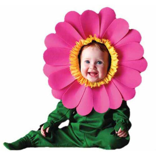 Pink And Yellow Cotton Kids Flower Costume Rs 490 Set Id
