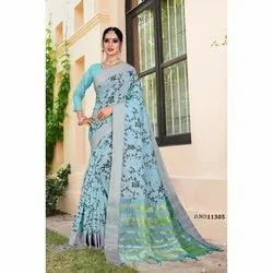 Silk Designer Party Wear Saree