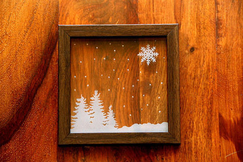 Ordinaire Glass Wood Frames