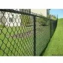 Iron Coated Chain Link Fencing, Size: 1.6 To 4mm