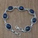 Black Onyx 925 Sterling Silver Gemstone Bracelet Jewelry