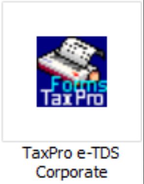 Taxpro E Tds Corporate Computation Return Filing Software In