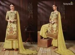 Nayaab Satin Sharara Suit
