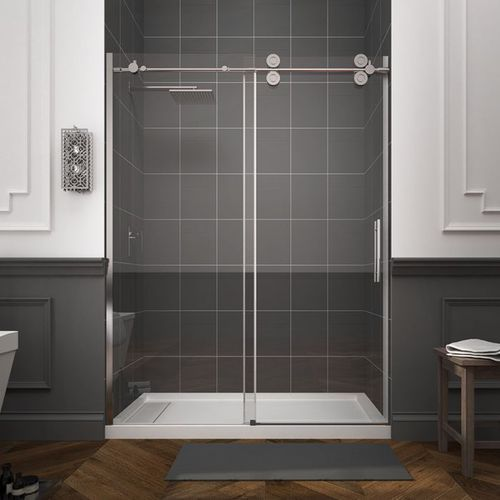 Frameless Shower Doors.Frameless Shower Door