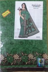 Casual Wear Green saree serial no 1032