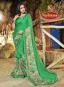 Printed Crepe Chiffon Saree - Vishakha