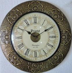 Brass Fitted Wooden Wall Clocks