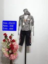 SBD Formal Wear Kids Jeans Capri