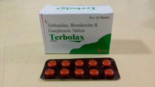 Terbutaline Bromhexine and Guaiphenesin Tablets