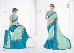 New And Latest Designer Party Wear Fancy Saree