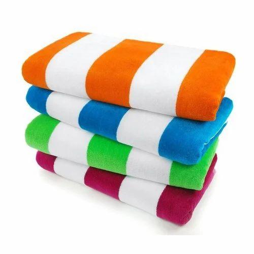 Cotton Beach Towels, कॉटन बीच टॉवल - Abhichahat Creations, Panipat   ID: 18042463733