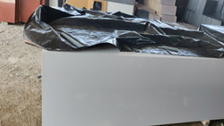 White Glaze Granite, Thickness: 15-20 mm