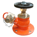 Righty Angle Type Landing Valve