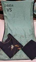 Mudal Semi-Stitched Fancy Suit