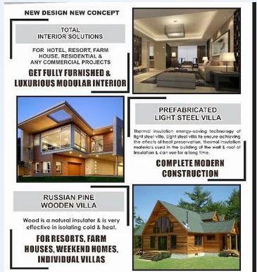 Prefabricated Wooden Villa