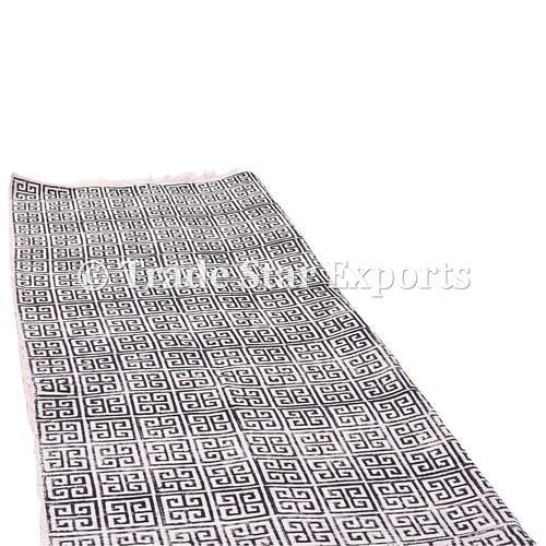 13faea82 Hand Block Print Area Rug at Rs 900 /piece | Cotton Rug | ID ...