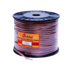 Stakefine Transparent Speaker Wire Cable 1.5 Sq Mm