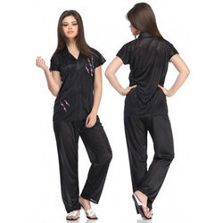 Full Length Sleepwear Ladies Night Suit