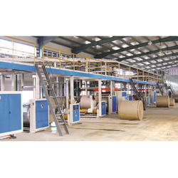 High Speed Automatic Corrugated Board Making Plant