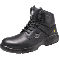 Bata Black Low Ankle Industrial Safety Shoes, Size: 5 - 11