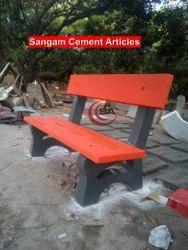 Concrete Bench Terrazzo Finish