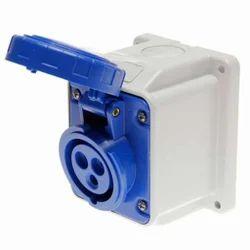 Sibass 16A 3 Pin Box Type Socket - IP44