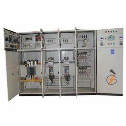 Three Phase Galvanized Aluminium Industrial Control Panel, IP Rating: IP54